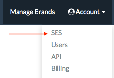 SES account status